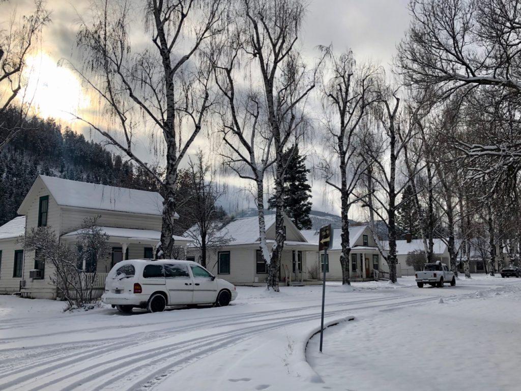 A neighborhood in Bonner, Montana (Photo: Lisa Parks)